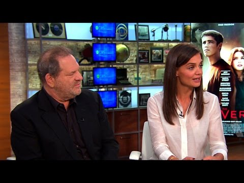 """Katie Holmes and Harvey Weinstein on bringing """"The Giver"""" to big screen"""