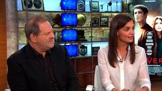 Katie Holmes and Harvey Weinstein on bringing