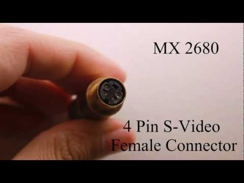 How to DIY S-Video Connectors ?