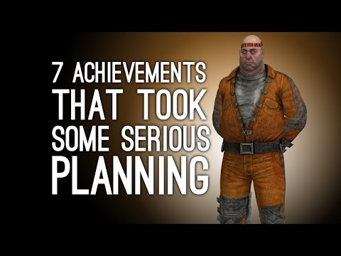 7 Achievements That Took Some Serious Planning