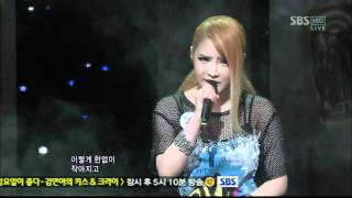 2NE1-Lonely (SBS popular song - May 29)