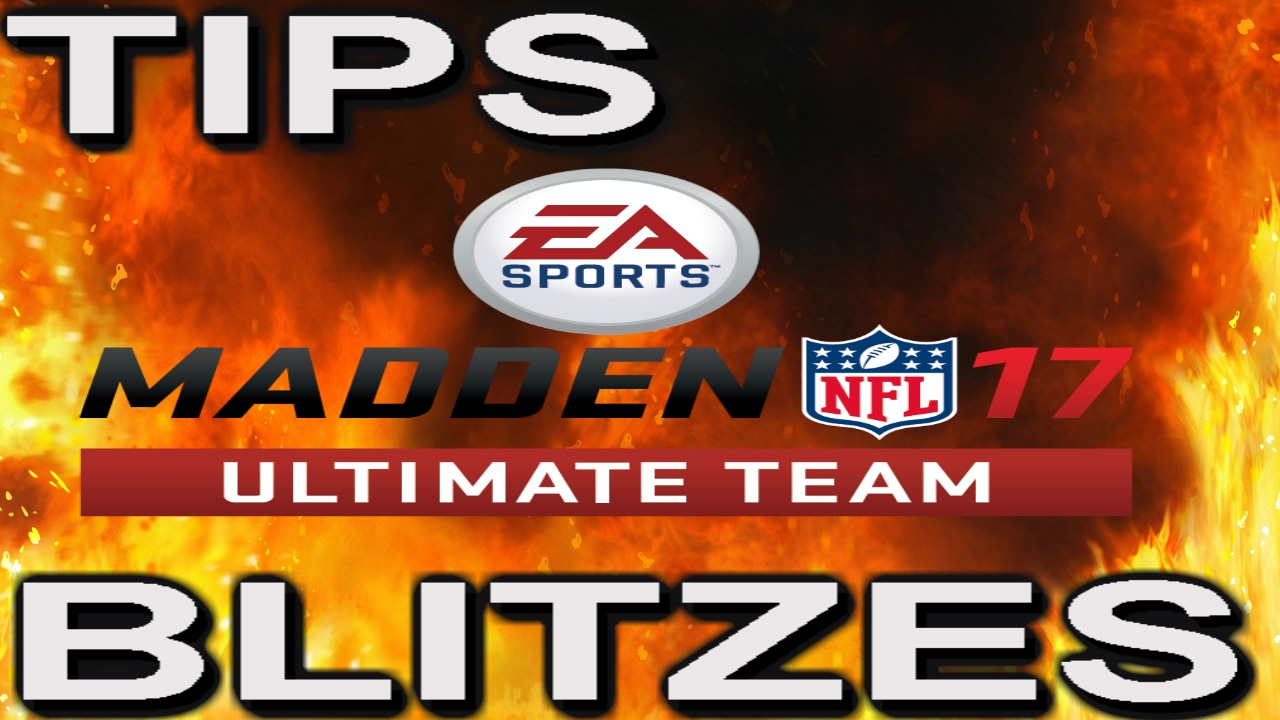 MADDEN 17 ULTIMATE TEAM ADJUSTMENTS AND BLITZES YouTube