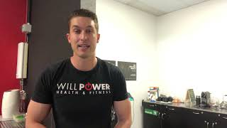 Willpower Health and Fitness Induction
