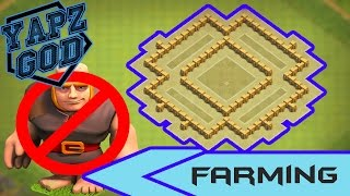 THE BEST TH5 FARMING/TROPHY (ANTI-GIANT) - Clash of Clans