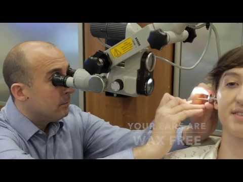 Ear Wax Removal With Microsuction