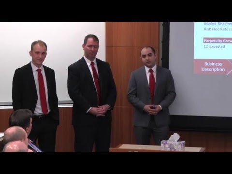 2016 CFA Global Investment Research Challenge - Washington State University -Vancouver