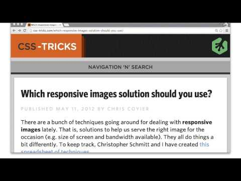 Image-set and background solutions - Mobile Web Development