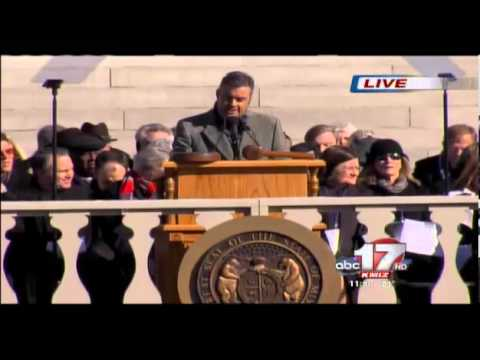 Live Coverage of the 2013 Inauguration of Missouri Governor Jay Nixon