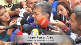 Pese al descomunal cerco policial Unidad cumplió su objetivo