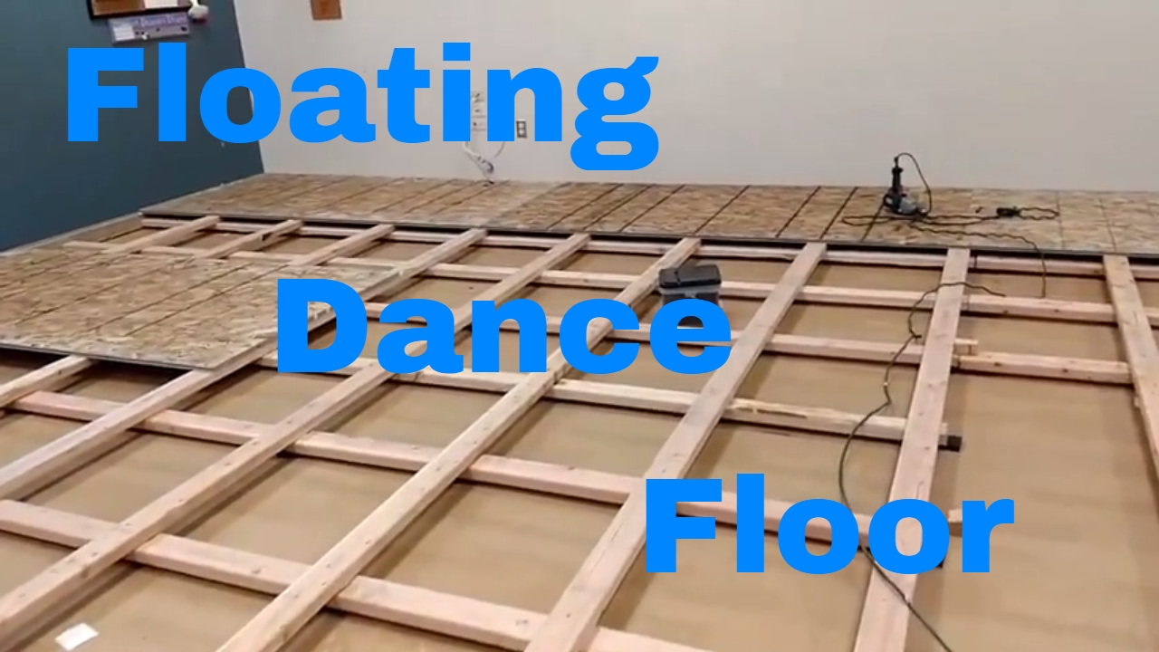 Dance Floor Diy How To Build A Floating Floor Youtube