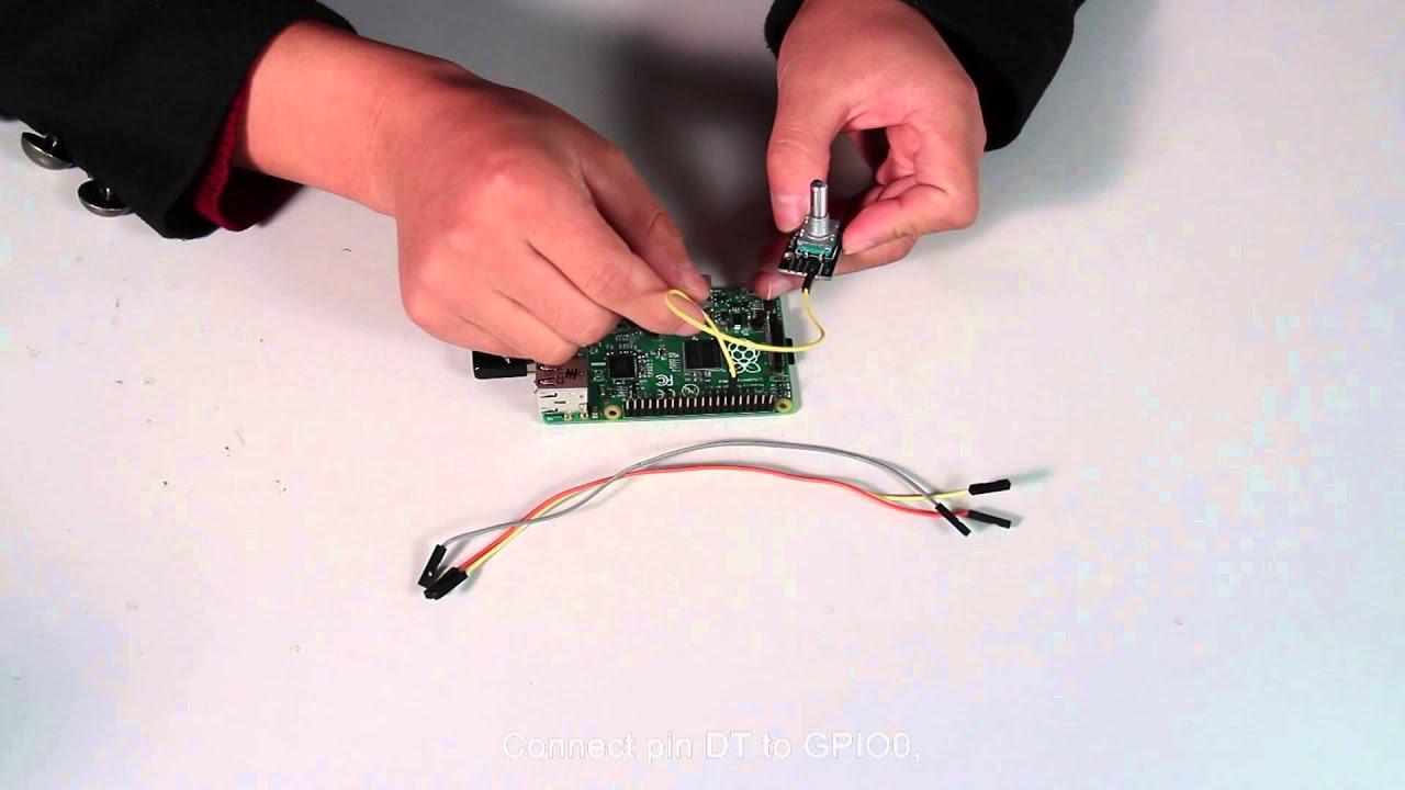 Sunfounder Kit Turorial for Raspberry Pi - Rotary Encoder