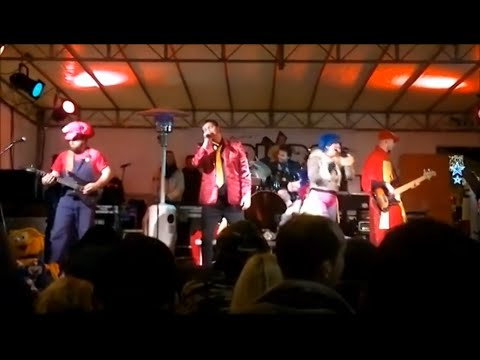 Nott De Bisò Faenza 05/01/2015. Freeway Band - Sigle TV e Cartoons.