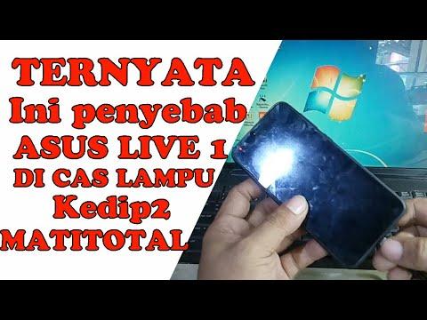 PENYEBAB ASUS ZENFONE LIVE LED MERAH KEDIP MATITOTAL
