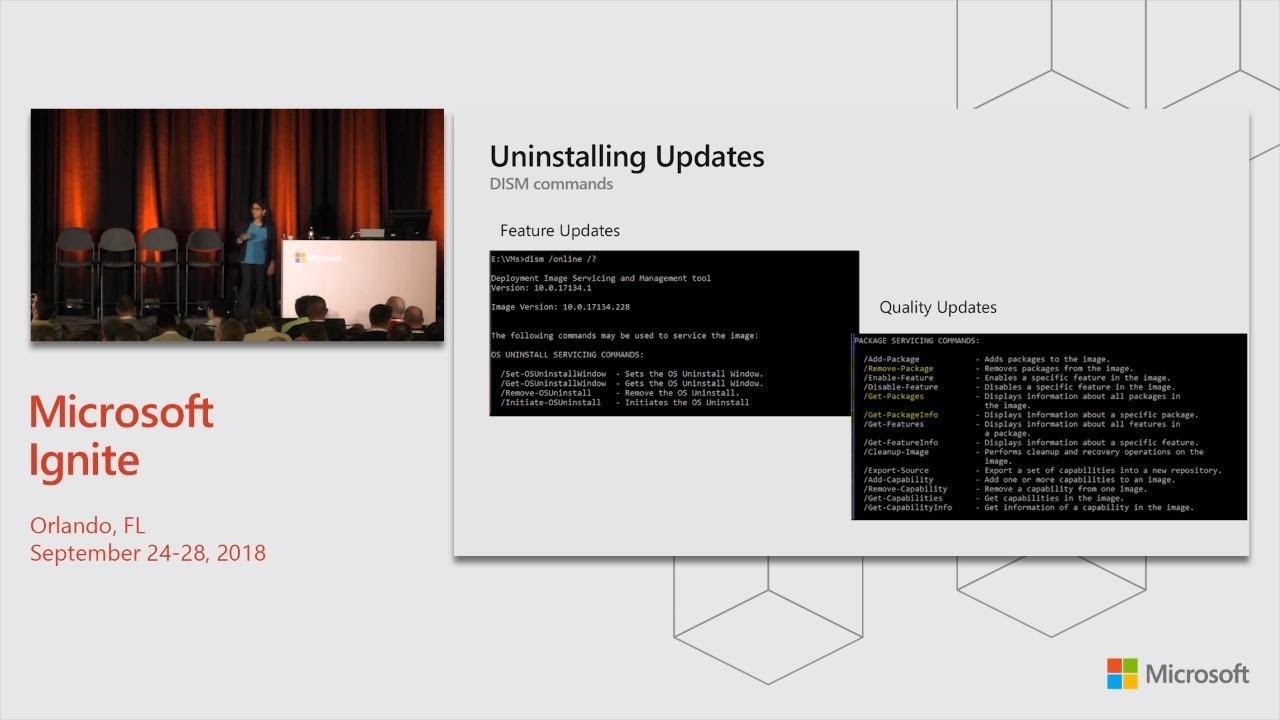 Deploying Windows 10: Making the update experience smooth and seamless -  BRK3027