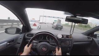 Golf R MK6 in highway traffic / Dwin - Cityyyyyy Lifeee