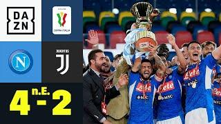 Trotz Katze Buffon! Napoli gewinnt Pokalfinale: Neapel - Juventus 4:2 n.E. | Coppa Italia