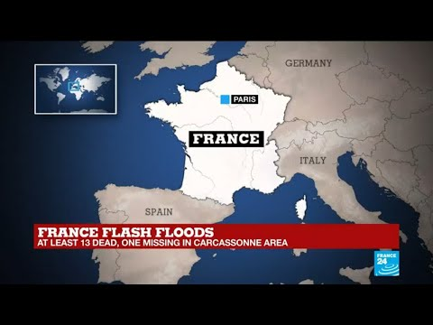"France flash floods: ""many rescuers from neighbouring departments came to help"""