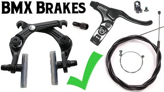 Everything You Need F๐r BMX Brakes! - Straight Cable