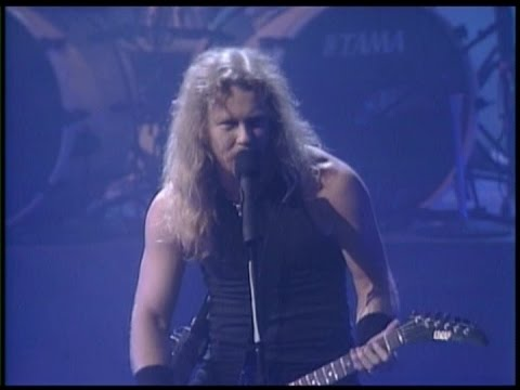 Metallica  Enter Sandman   at The  Music Awards 1991