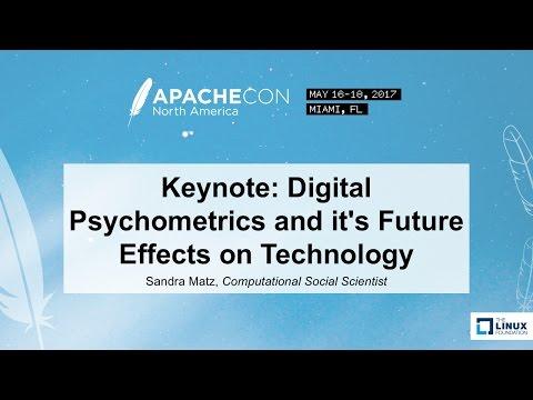 Keynote: Digital Psychometrics and it's Future Effects on Technology - Sandra Matz