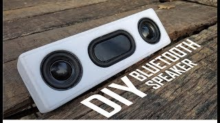 How To Make A Heavy Bass Bluetooth Speaker With Powerbank At Home