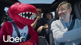 Uber is all in for the Raptors Playoffs | Uber