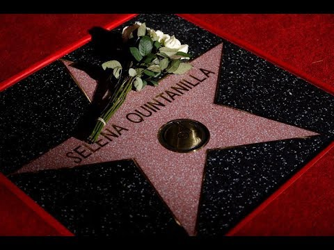 Hollywood Walk of Fame | Selena Quintanilla ceremony