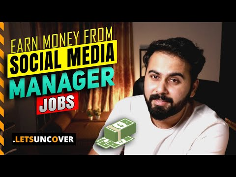 Social Media Management Jobs [5 Types] How To Be A Social Media Manager, Social Media Manager Course