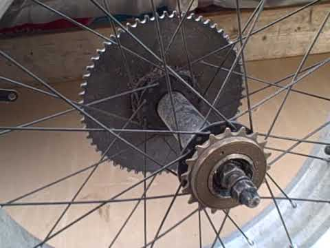 5hp Chopper Bike Sprocket Hub Youtube