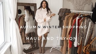 Autumn Winter Shopping Haul Video | Zara, H&M, Very