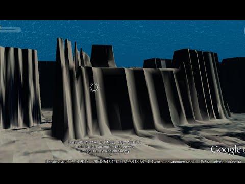 Подводные города Антарктиды и другие объекты на дне океана