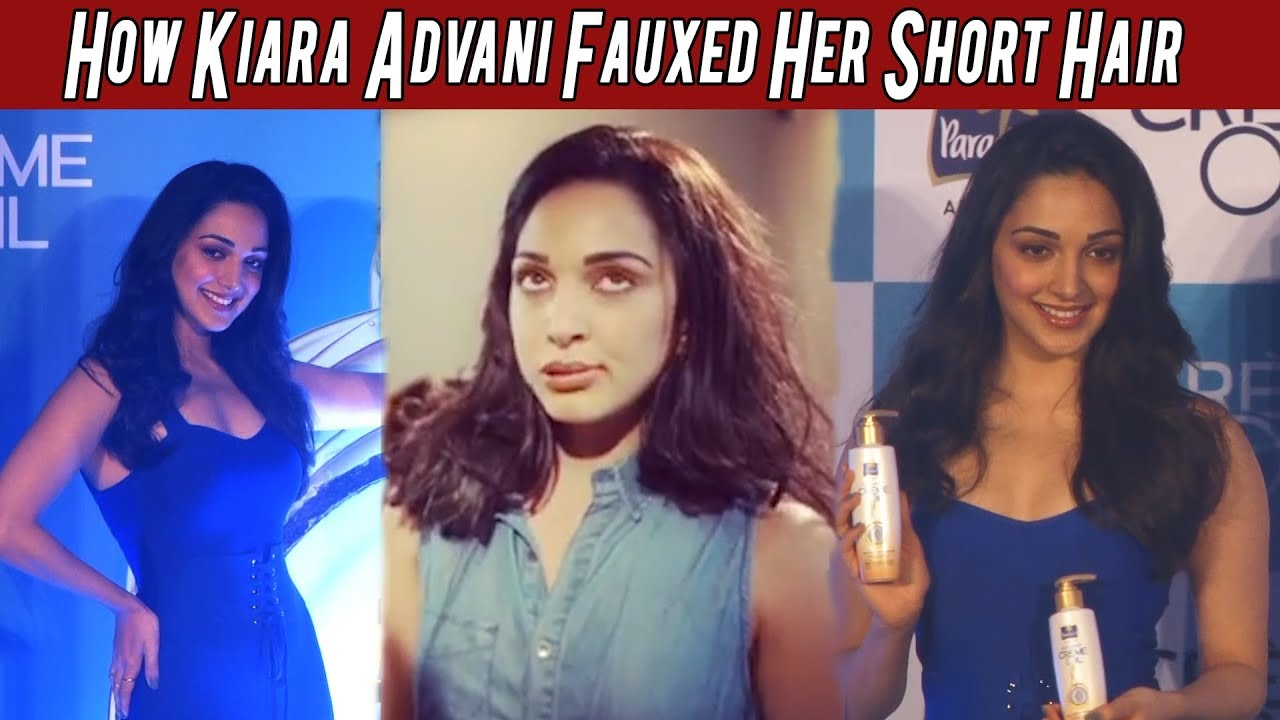 How Kiara Advani Fauxed Her Short Hair Watch The Full Video Here