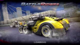 Battle Riders Gameplay (PC game, No commentary, car race)