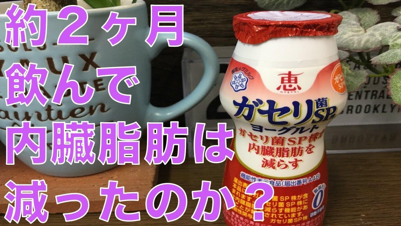 ヨーグルト 飲む ガセリ 菌