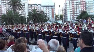 """Marcha """"Avenida de Las Camelias"""" - Granaderos - Fanfarria Militar Alto Perú [2012-NOV-23]"""