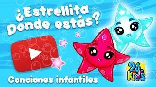 ESTRELLITA DÓNDE ESTÁS | canciones para bebés y niños ⭐