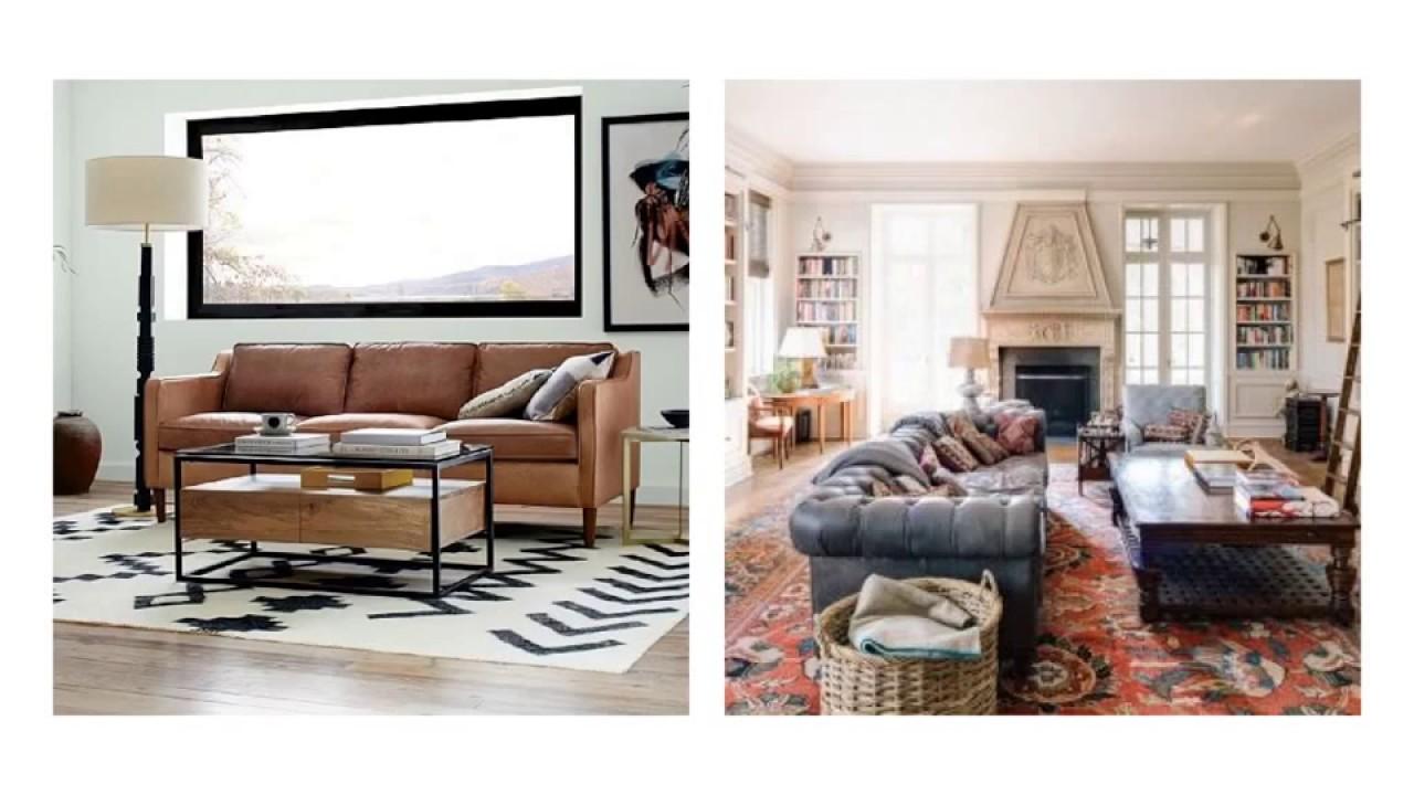 Cognac Leather Sofa Decorating Ideas