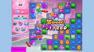 Candy Crush Saga Level 3243 in 8 moves NO BOOSTERS Cookie