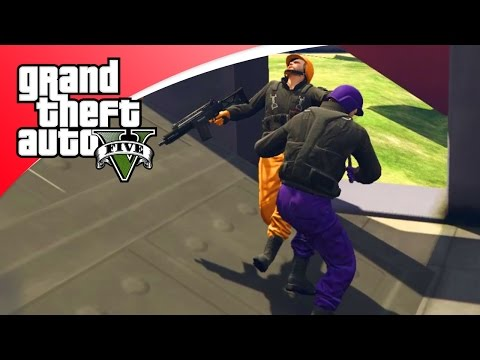 GTA V Online - GUN GAME, NIEUWE GAME MODE! (GTA 5 Online Funny Jobs)