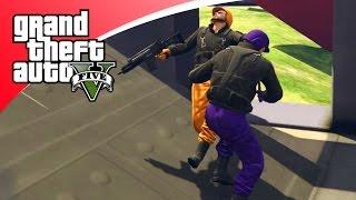 GTA V Online - GUN GAME, NIEUWE GAME MODE! (GTA 5 Online Funny Jobs)