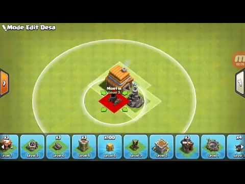 Base coc th 5 terkuat Defend