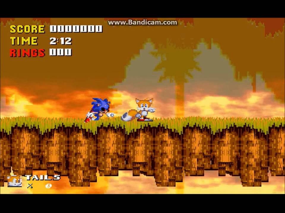 Sonic EXE (Scratch version) playthrough + a secret stage by