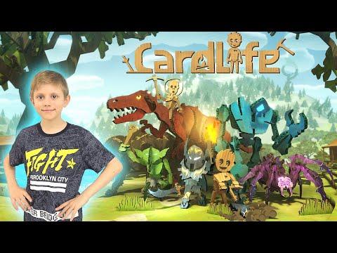 CardLife игра про выживание в жанре научного фэнтези в картонном мире! Даник Junior и Игры для ПК