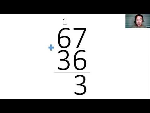 Сложение столбиком видеоурок 2 класс