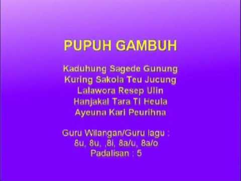 Lagu Sunda dengan Lirik | PUPUH GAMBUH