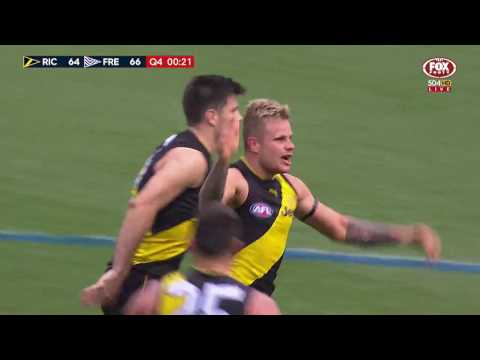 Last two minutes: Richmond v Fremantle