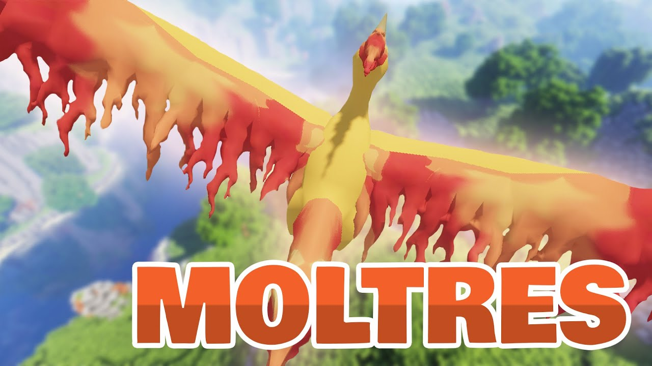 How to Summon LEGENDARY MOLTRES? | Pixelmon Reforged