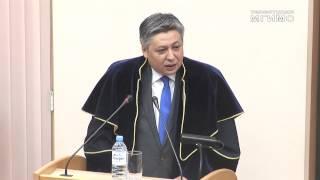 видео: Э.Абдылдаев – Почетный доктор МГИМО
