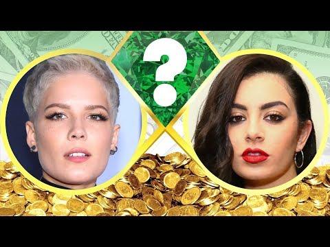 WHO'S RICHER? - Halsey or Charli XCX? - Net Worth Revealed! (2017)