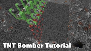 Minecraft Tutorial - Flỳing TNT Bomber 1.16+
